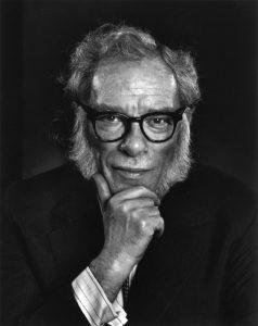 Isaac Asimov by Yousuf Karsh